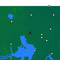 Nearby Forecast Locations - Siyang - Map