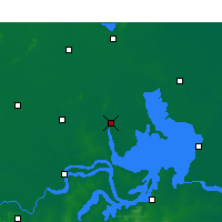 Nearby Forecast Locations - Sihong - Map