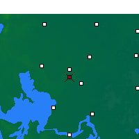 Nearby Forecast Locations - Qingjiang - Map