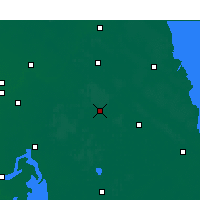Nearby Forecast Locations - Jianhu - Map