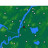 Nearby Forecast Locations - Dangtu - Map