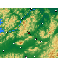 Nearby Forecast Locations - Pujiang/ZHJ - Map