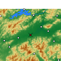 Nearby Forecast Locations - Longyou - Map