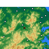 Nearby Forecast Locations - Xinchang - Map
