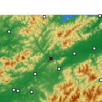 Nearby Forecast Locations - Changshan - Map