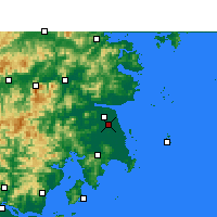 Nearby Forecast Locations - Taizhou/ZHJ - Map