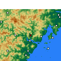 Nearby Forecast Locations - Yongjia - Map