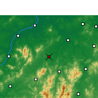 Nearby Forecast Locations - Chongren - Map
