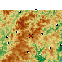 Nearby Forecast Locations - Shouning - Map