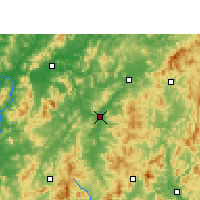 Nearby Forecast Locations - Huichang - Map