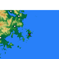 Nearby Forecast Locations - Pingtan - Map