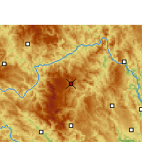 Nearby Forecast Locations - Leye - Map