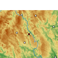 Nearby Forecast Locations - Donglan - Map