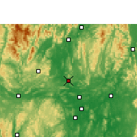 Nearby Forecast Locations - Liucheng - Map