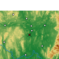 Nearby Forecast Locations - Liujiang - Map
