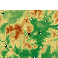 Nearby Forecast Locations - Ruyuan - Map