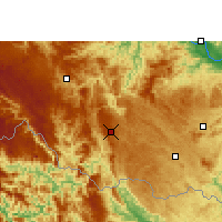 Nearby Forecast Locations - Napo - Map