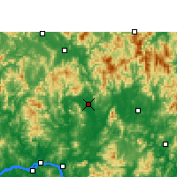 Nearby Forecast Locations - Xindu/GXA - Map