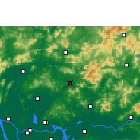 Nearby Forecast Locations - Conghua - Map