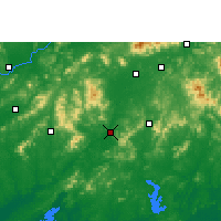 Nearby Forecast Locations - Bobai - Map