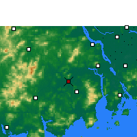 Nearby Forecast Locations - Kaiping - Map