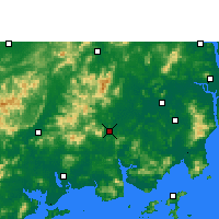 Nearby Forecast Locations - Enping - Map