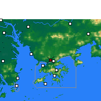 Nearby Forecast Locations - Shenzhen - Map