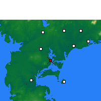 Nearby Forecast Locations - Zhanjiang - Map