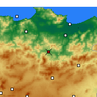 Nearby Forecast Locations - Guelma - Map