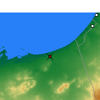 Nearby Forecast Locations - Arish - Map