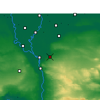 Nearby Forecast Locations - Cairo - Map