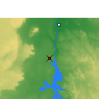Nearby Forecast Locations - Aswan - Map