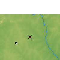 Nearby Forecast Locations - Ouagadougou - Map