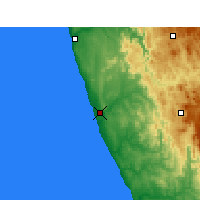 Nearby Forecast Locations - Koingnaas - Map