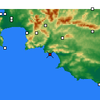 Nearby Forecast Locations - Hermanus - Map