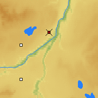 Nearby Forecast Locations - Peace River - Map