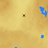 Nearby Forecast Locations - Red Earth - Map