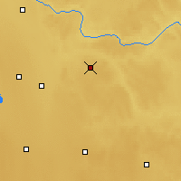 Nearby Forecast Locations - Two Hills - Map