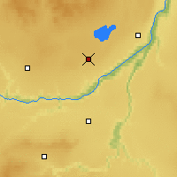 Nearby Forecast Locations - Brownvale - Map