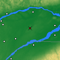 Nearby Forecast Locations - Beaver Mines - Map