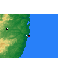Nearby Forecast Locations - Recife - Map