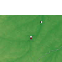 Nearby Forecast Locations - Rio Branco - Map