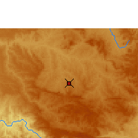 Nearby Forecast Locations - Araxá - Map