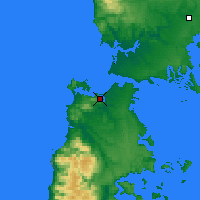 Nearby Forecast Locations - Ancud - Map
