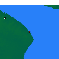 Nearby Forecast Locations - Punta Indio - Map