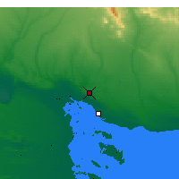 Nearby Forecast Locations - Bahía Blanca - Map