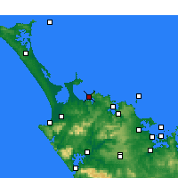 Nearby Forecast Locations - Taipa-Mangonui - Map