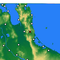 Nearby Forecast Locations - Waihi - Map