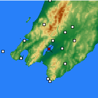 Nearby Forecast Locations - Lake Wairarapa - Map