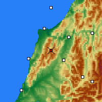 Nearby Forecast Locations - Nelson Lak. NP - Map